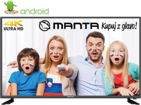 Manta LED TV-sprejemnik 43LUA29L