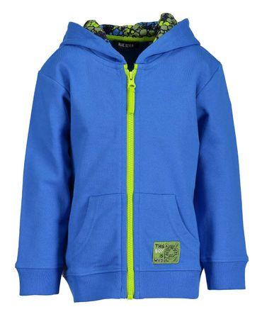 Blue Seven chlapecká mikina 98 modrá  1226f974198