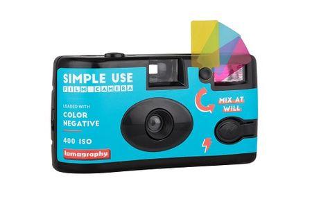 Lomography fotoaparat za enkratno uporabo Simple Use, barvni film