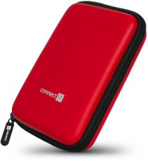 """Connect IT HardShellProtect case na 2,5"""" HDD, czerwony (CFF-5000-BK)"""