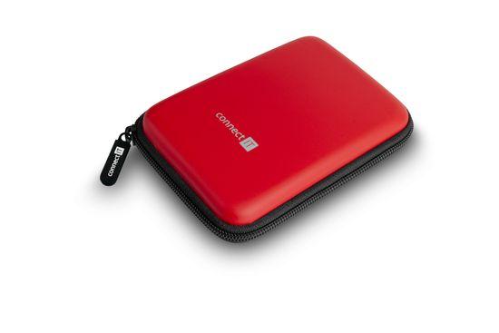 "Connect IT HardShellProtect púzdro na 2,5"" HDD, červené (CFF-5000-RD)"