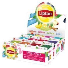Lipton Mix box 12 typů, 180 čajových sáčků