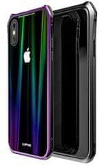 Luphie CASE Luphie Aurora Magnet Hard Case Glass Black/Purple pro iPhone X 2441671