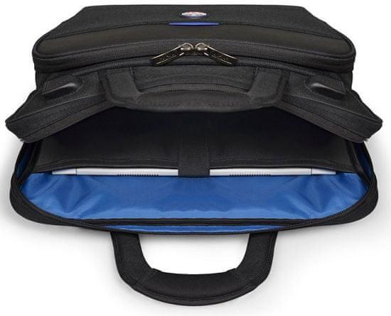 Port Designs torba za prijenosno računalo CHICAGO EVO s punjačem, (13-15,6″/33-39,6 cm) i tablet 10,1″ (25,6 cm), 400505, crna