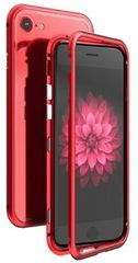 Luphie CASE Luphie Magneto Hard Case Glass Red/Crystal pro iPhone 7/8 2441691