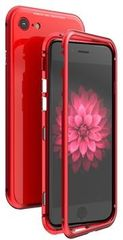 Luphie CASE Luphie Magneto Hard Case Glass Red pro iPhone 7/8 2441690