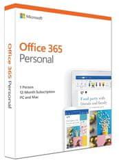 Microsoft Office 365 Personal EN verze (QQ2-00790)