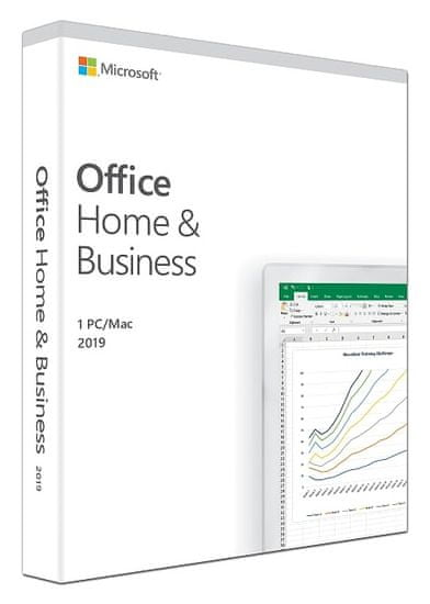 Microsoft Office Home & Business 2019, FPP, angleški