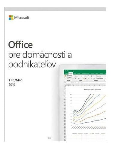 Microsoft Office 2019 Home and Business SK verze (T5D-03231)