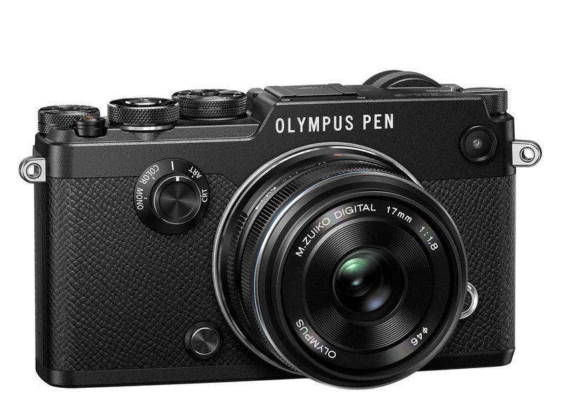 Olympus PEN-F Black + 17 mm f1,8