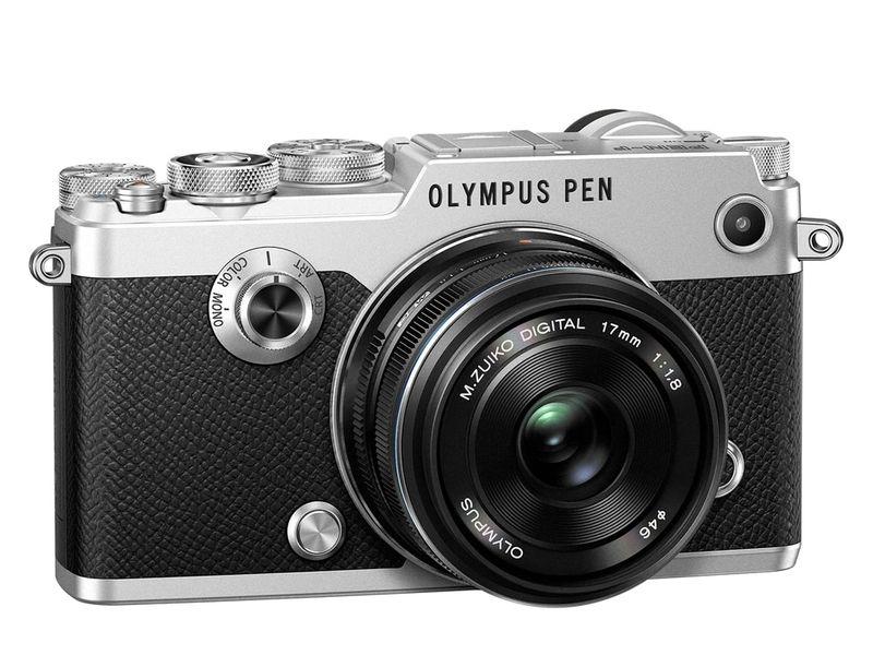 Olympus PEN-F Silver + 17 mm f1,8