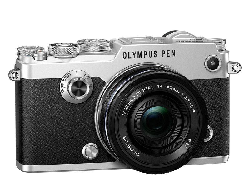 Olympus PEN-F silver + 14-42 mm EZ