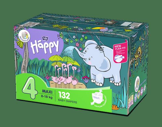 Bella Happy 4 Maxi Box (8-18 kg) 132 ks