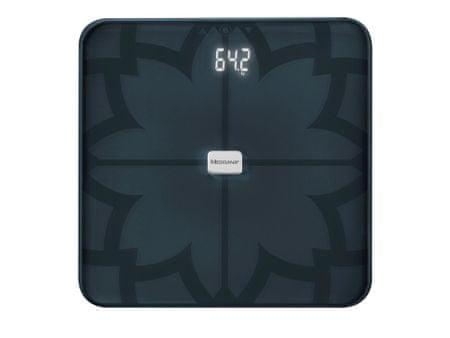 Medisana 40510 BS 450 Osobní váha s analýzou a Bluetooth, černá