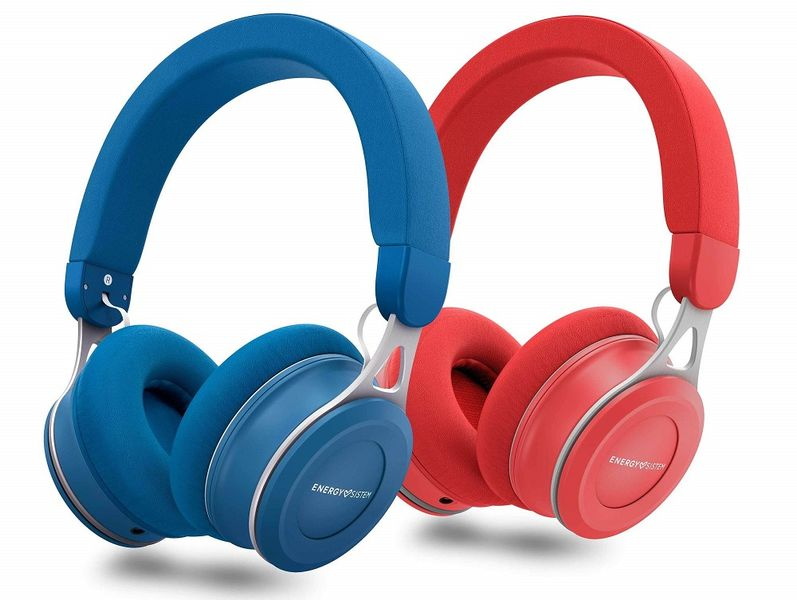 Energy Sistem Headphones Urban 3, červená