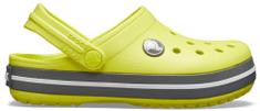 Crocs Crocband Clog K Citrus/Slate Grey
