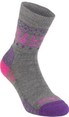 Bridgedale Hike Lightweight Mp Boot Women'S Grey Pink 823