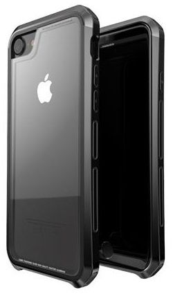 Luphie CASE Double Dragon Aluminium Hard Case Black/Black pro iPhone 7/8 2441729
