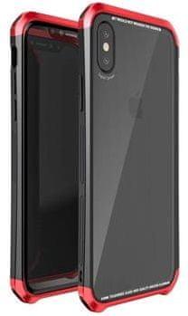 Luphie CASE Double Dragon Aluminium Hard Case Black/Red pro iPhone X 2441725