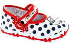 Disney by Arnetta dívčí bačkůrky Minnie