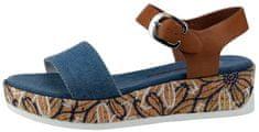 U.S. Polo Assn. dámské sandály Elba Denim