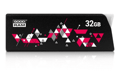 GoodRam USB ključ 3.0 UCL3, 32GB, črn (500204)