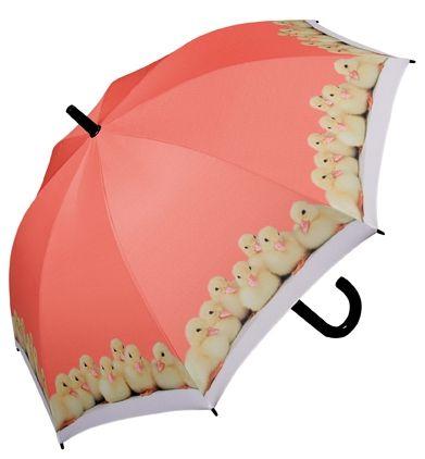 Doppler Dětský holový vystřelovací art deštník káčata 727565
