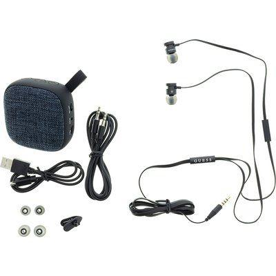 Guess žične slušalke in bluetooth zvočnik