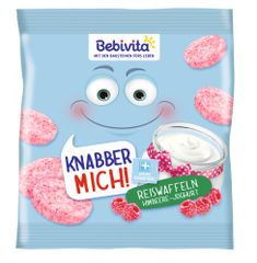 Bebivita Rýžové oplatky Maliny-jogurt 7x30g