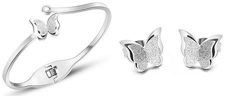 Troli Zvýhodnená motýlie sada Metal Butterfly