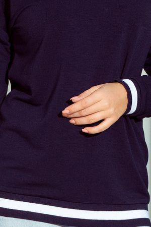Numoco dámský svetr S tmavě modrá  78feeb38fb
