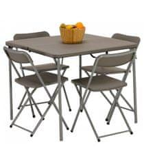 Vango Orchard 86 set stolu a židlí, šedý