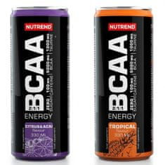 Nutrend BCAA Energy 330 ml - citrus+acai