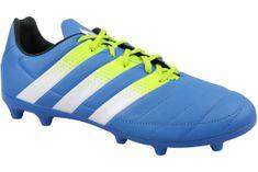 Adidas ACE 16.3 FG/AG Leather  AF5163 42 2/3 Niebieskie