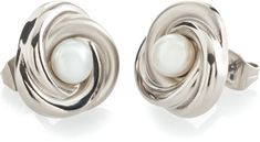 Boccia Titanium Náušnice z titánu s perlou 0590-01