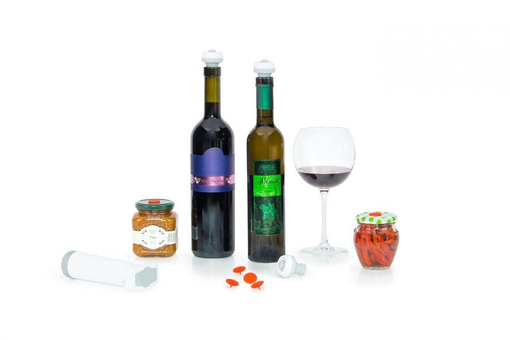 Status Vakuový set na víno