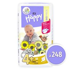 Bella Happy Pieluchy Maxi Plus Big Pack - 248 szt.