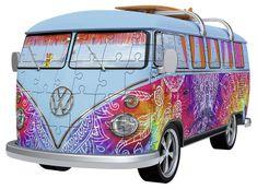 Ravensburger VW autobus indiánské léto 162 dílků