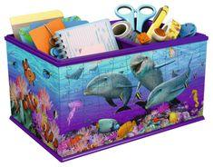 Ravensburger sestavljanka škatla za shranjevanje Podvodni svet, 216 kos