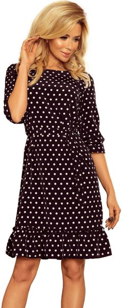 Numoco dámské šaty S černá