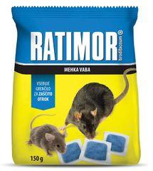 UNICHEM Ratimor mäkká návnada brodifacoum (150 g)