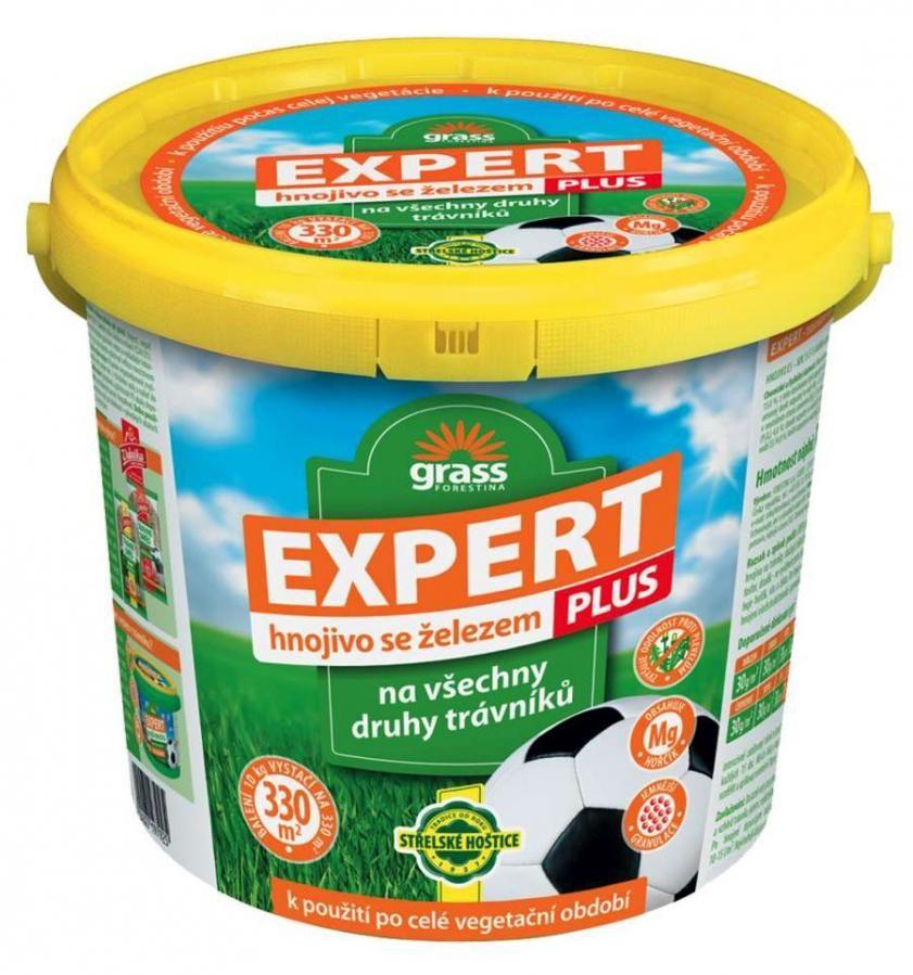 Forestina EXPERT PLUS trávníkové hnojivo (10 kg kbelík)