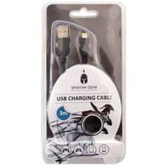 Spartan micro USB polnilni kabel, 3m