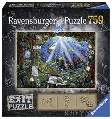 Ravensburger puzzle Exit Puzzle: Łódź podwodna 759 elementów