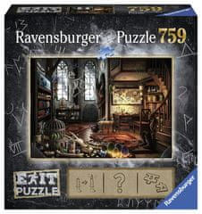 Ravensburger puzzle Exit Puzzle: Tajemniczy Pokój 759 elementów