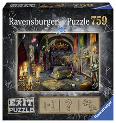 Ravensburger puzzle Exit Puzzle: Zamek Rycerski 759 elementów
