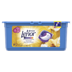 Lenor gélové kapsuly Gold Orchid 3in1 28 ks