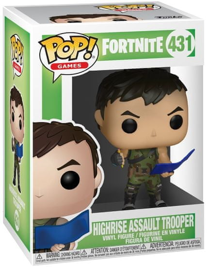 Funko POP Games Fortnite Highrise Assault Trooper
