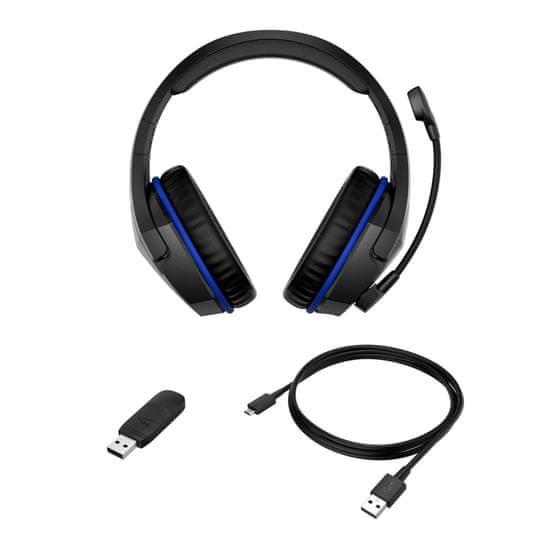 HyperX slušalke HyperX Cloud Stinger, brezžične, gaming, črne