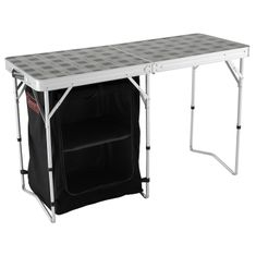 Coleman Camp Table and Storage
